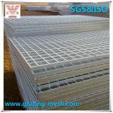 Plain/galvanizzato Serrated/Steel Grating per Walkway