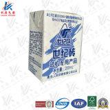 200ml de material de embalagem asséptico base com laminação