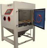 Máquina manual em forma de caixa do Sandblasting