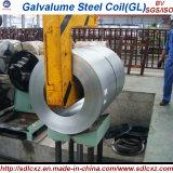 (0.14mm-1.0m m) Bobina de acero primera sumergida caliente del Galvalume (Aluzinc) (GL)