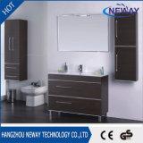 Module de salle de bains debout de vanité d'étage de mélamine de qualité