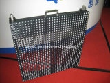 Indicador de diodo emissor de luz video ao ar livre da cor cheia da cortina transparente do diodo emissor de luz P10
