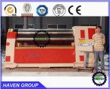 prensa de batir de doblez industrial W11H-6X4000 de la placa automática 3-Roller