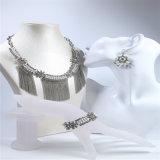 Braccialetto stabilito dell'orecchino della collana dei nuovi di disegno della resina dei branelli monili acrilici di modo