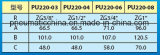 Elettrovalvole a solenoide di serie PU220 dalla Cina Pneumission