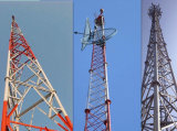 Telekommunikationszellen-Aufsatz des Stahlrohr-3leged