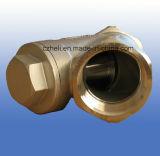 800wog Y-Tipo válvula de verificação 316ss da mola Hvt-C1