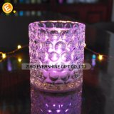 Großhandelskristallgeschliffenes Glas Tealight Kerze-Halter