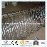 Warm gewalzte Stahlziehharmonika-Stacheldraht-Rod-Ringe