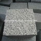 Flambé/a rectifié/G603 granit gris dégringolé/normal Cubestone/pierre de pavé rond/cube pour l'allée
