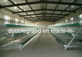 Las aves de corral de acero prefabricadas contienen, los hogares del pollo con el equipo (PCH-7)