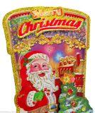 La nueva Navidad tridimensional pega etiquetas engomadas