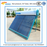 De vácuo da câmara de ar fábrica solar do calefator de água da pressão não com alta qualidade