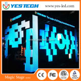 세륨, FCC, ETL를 가진 유연한 디자인 단계 배경 LED 내각