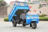 De Chinese Driewieler van de Diesel Waw Aandrijving van de Stortplaats Rechtse voor Verkoop