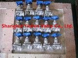 Выровнянный тип мембранный клапан плотины PFA для химиката