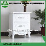 Gabinete contínuo da cabeceira da madeira de pinho (W-B-0051)