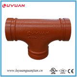 L'UL a indiqué, l'accouplement flexible cannelé par fer malléable 76.1 d'homologation de FM