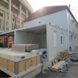 Edifício modular pré-fabricado para a aplicação residencial
