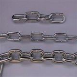 電流を通された鋼鉄DIN764中間のリンク・チェーン