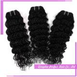 100%の加工されていないバージンの人間の毛髪の卸売のブラジルのバージンの毛