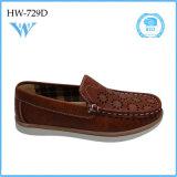 Nueva manera del estilo cómoda y zapatos planos del cabrito de la alta calidad