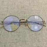 De nieuwste Frames van Eyewear van het Metaal van de Aankomst Antieke Ronde