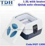 Heater Dental Ultrasonic Cleaner (VGT-1200)를 가진 1.3L Quick Auto Cleaning
