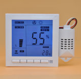 Temperatura de Digitaces de la incubadora y regulador de la humedad con el profesional