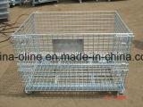 Recipiente de armazenamento do engranzamento de fio de aço (1200*1000*890)