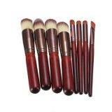 Cepillos lindos de Kabuki del maquillaje encantador colorido con el conjunto 8PCS