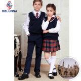 Gilet noir d'uniforme scolaire de qualité
