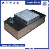 Блок фильтра панели вентилятора для чистки воздуха