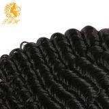 da extensão brasileira do cabelo humano do Virgin 7A tecelagem brasileira do cabelo (TFH-182)