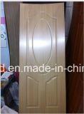 Usine de peau de porte moulée par mélamine de forces de défense principale dans Shandong