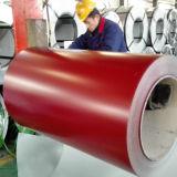 Beschichtete 0.14-0.8mm kaltgewalzte vorgestrichene Farbe Dx51 Stahlring PPGI