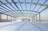Здание мастерской низкой стоимости конструкции стальное