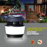 Lumière solaire de jardin avec les éclairages LED répulsifs de moustique solaire du produit répulsif IP55 de moustique plus commodes