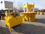 Bloco de bloqueio manual que faz o grupo da maquinaria do preço Dy150t Dongyue da máquina
