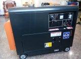 générateur 5kw diesel silencieux refroidi à l'air portatif