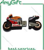 Vara USB em PVC com formato personalizado com chip de classe única 10