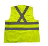 安いカスタムこんにちは気力の道路の高い可視性の反射警告のベスト