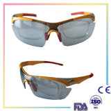 Lunettes de soleil de sport d'hommes de marque polarisées par modèle pour la pêche UV400