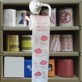 Advertisement Toilet Wipes Companyラベルによって印刷されるトイレットペーパー