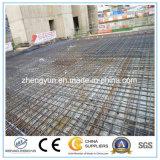 Rete metallica saldata acciaio concreto di rinforzo della costruzione