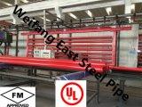 UL FM ASTM A53の消火活動のスプリンクラーによって塗られる鉄骨構造の管