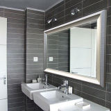 Mirror d'argento con Beveled Edges Rfq