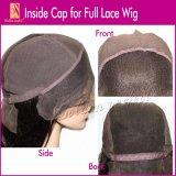 Золотисто улучшите парик 100% шнурка человеческих волос