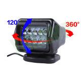 CREE 50W Fernsteuerungsrecherche-Licht der marine-LED mit Magnet-Unterseite