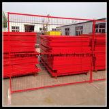 El panel temporal galvanizado sumergido caliente de la cerca